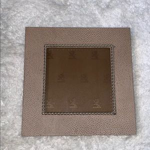 Birks luxury photo frame silver detail glass frame